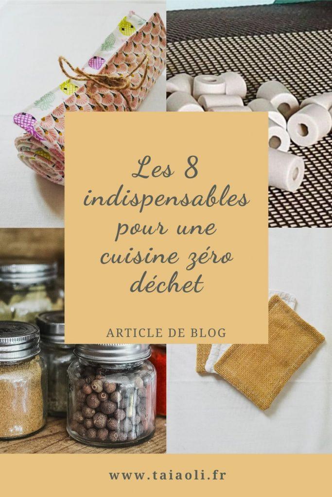 Les 8 indispensables pour une cuisine zéro déchet